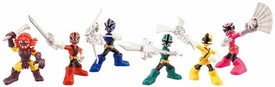 Power Rangers Samurai Action Figure 6-Pack Mini Battle Ready Figures