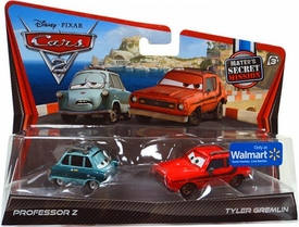 Disney / Pixar CARS 2 Movie Exclusive 1:55 Die Cast Car 2-Pack Professor Z & Tyler Gremlin [Mater's Secret Mission]