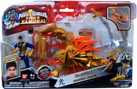 Power Rangers Super Samurai Vehicle & Action Figure ClawZord & Samurai Ranger Antonio