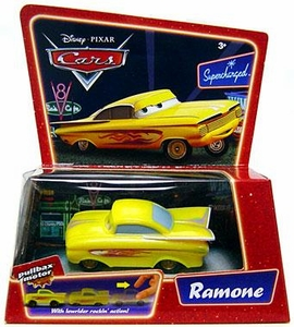 Disney / Pixar CARS Movie Pullback Vehicle Yellow Ramone [*Random Package]