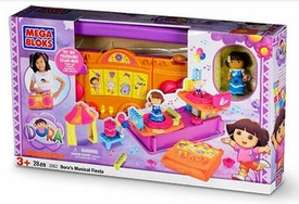 Dora The Explorer Mega Bloks Set #3062 Dora's Musical Fiesta