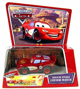 Disney / Pixar CARS Movie Pullback Vehicle Radiator Springs Lightning McQueen