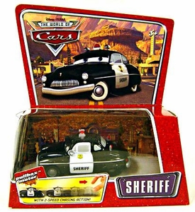 Disney / Pixar CARS Movie Pullback Vehicle Sheriff [*Random Package]