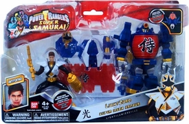 Power Rangers Super Samurai Vehicle & Action Figure LightZord & Super Mega Ranger Antonio