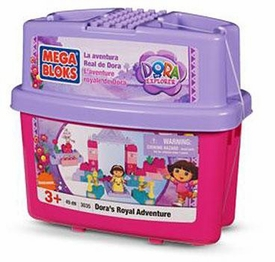 Dora The Explorer Mega Bloks Set #3035 Dora's Royal Adventure