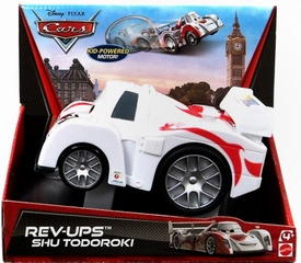 Disney / Pixar CARS Movie Rev-Ups Shu Todoroki