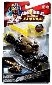 Power Rangers Super Samurai Sword Cycle With Super Mega Ranger