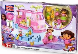 Dora The Explorer Mega Bloks Set #3082 Dora's Vacation Adventure