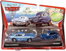 Disney / Pixar CARS 2 Movie 1:55 Die Cast Car 2-Pack Finn McMissile & Tomber