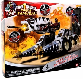 Power Rangers Super Samurai Vehicle Tiger Tank with Samurai Ranger Action Figure