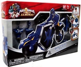 Power Rangers Super Samurai Build and Morph Set Dragonzord & Mega Ranger Water