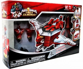 Power Rangers Super Samurai Build and Morph Set Tigerzord & Mega Ranger Fire