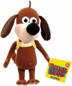 Timmy Time 7 Inch Plush Ruffy the Brown Dog