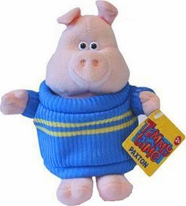 Timmy Time 7 Inch Plush Paxton the Pig