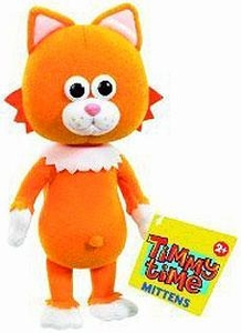 Timmy Time 7 Inch Plush Mittens the Cat