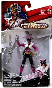 Power Rangers Super Samurai 4 Inch Action Figure Super Mega Ranger Sky [Pink]