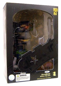 Upper Deck Authenticated All Star Vinyl Figure David Ortiz [All Black] Damaged Package, Mint Contents!