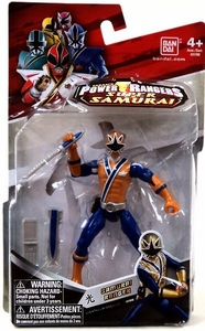 Power Rangers Samurai 4 Inch Action Figure Samurai Ranger Light