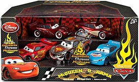 Disney / Pixar CARS 2 Movie Exclusive 1:48 Die Cast Car 5-Pack McQueen-O-Rama [Cruisin', Rusteze, World Grand Prix, Dinoco, Chrome]