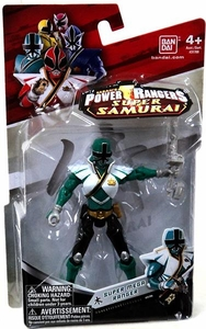 Power Rangers Super Samurai 4 Inch Action Figure Super Mega Ranger Forest [Green]