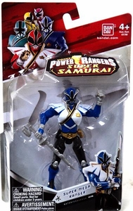 Power Rangers Super Samurai 4 Inch Action Figure Super Mega Ranger Water [Blue]