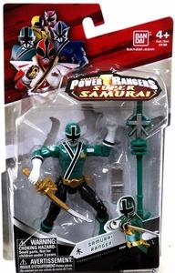 Power Rangers Super Samurai 4 Inch Action Figure Samurai Ranger Forest