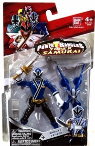 Power Rangers Super Samurai 4 Inch Action Figure Samurai Ranger Water