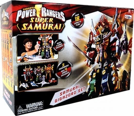 Power Rangers Super Samurai Play Set Samurai Gigazord