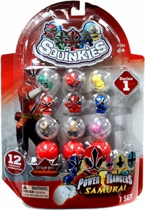Power Rangers Samurai Series 1 Squinkies 12-Pack