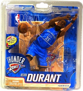 McFarlane Toys NBA Sports Picks Series 20 Action Figure Kevin Durant (Oklahoma City Thunder) Blue Uniform