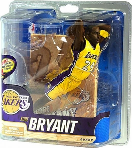 McFarlane Toys NBA Sports Picks Series 20 Action Figure Kobe Bryant (Los Angeles Lakers) Yellow Uniform