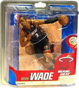 McFarlane Toys NBA Sports Picks Series 20 Action Figure Dwyane Wade (Miami Heat)