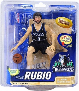 McFarlane Toys NBA Sports Picks Collectors Club Exclusive Action Figure Ricky Rubio (Minnesota Timberwolves)