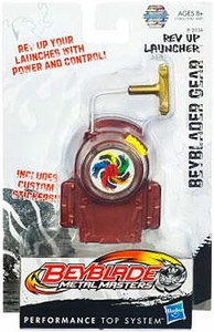 Beyblades Metal Masters Deluxe Gear #B-203A Rev Up Launcher [Maroon]