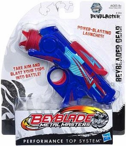 Beyblades Metal Masters Deluxe Gear #B-204A Beyblaster [Blue]
