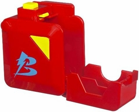 Beyblades Battle Gear #B202 Rapid Deploy Case [Red]