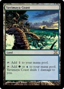 Magic the Gathering Tenth Edition Single Card Rare #363 Yavimaya Coast