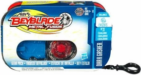 Beyblades Metal Fusion Battle Gear CH120FS Dark Gasher Gear Pack [Includes #BB31 Beyblade]