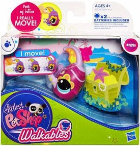 Littlest Pet Shop Walkables Figure #2126 Fish [Purple Fins]