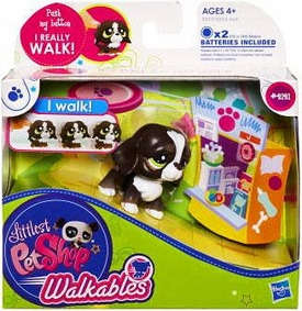 Littlest Pet Shop Walkables Figure #2121 Dog [Dark Brown]
