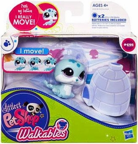 Littlest Pet Shop Walkables Figure #2122 Seal