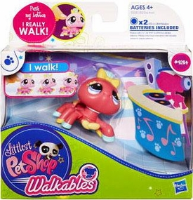 Littlest Pet Shop Walkables Figure #2124 Spider