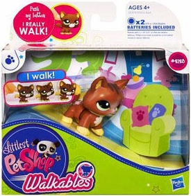 Littlest Pet Shop Walkables Figure #2123 Cat