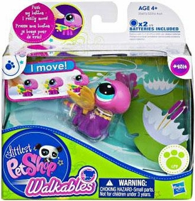 Littlest Pet Shop Walkables Figure #2314 Dragonfly