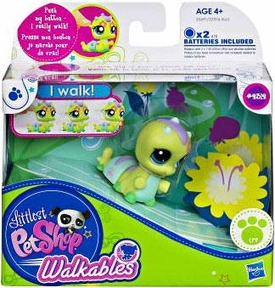 Littlest Pet Shop Walkables Figure #2312 Caterpillar
