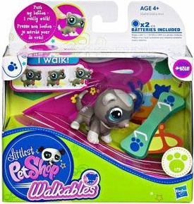 Littlest Pet Shop Walkables Figure #2315 Ferret