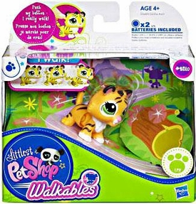 Littlest Pet Shop Walkables Figure #2310 Baby Tiger
