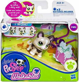 Littlest Pet Shop Walkables Figure #2311 Corgi Puppy