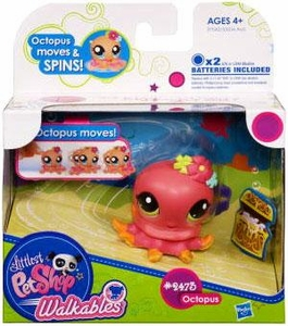 Littlest Pet Shop Walkables Figure #2373 Octopus