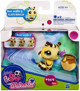 Littlest Pet Shop Walkables Figure #2472 Bumblebee